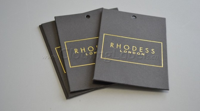 RHODESS LONDON hang tag