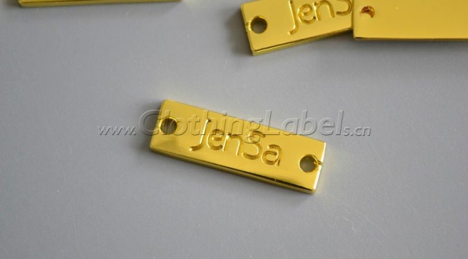 Jensa  metal labels,cusom metal labels