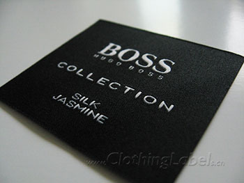 Fabric labels for clothing