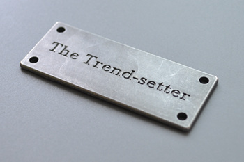 The Trend-setter metal label P001807