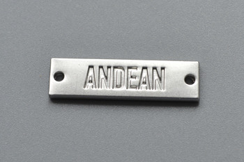 ANDEAN metal label P000923