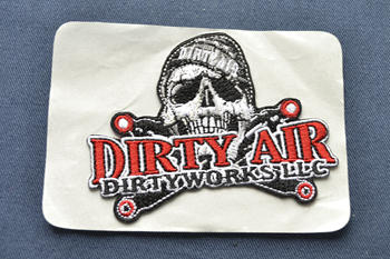 DIRTY AIR embroidered patch P003222
