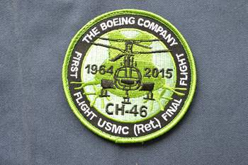 CH-46 embroidered patch P003226