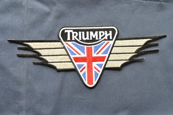 TRIUMPH embroidered patch P003227