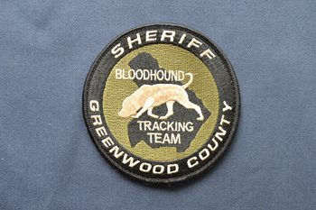 SHERIFF embroidered patch P003230