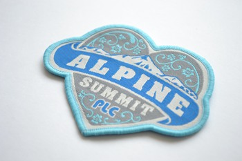 ALPINE woven patch