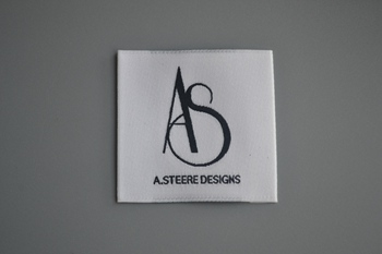AS woven label P000024