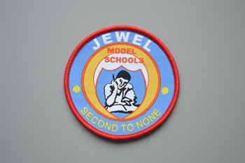 JEWEL woven patch P000245
