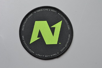 N woven patch P000313