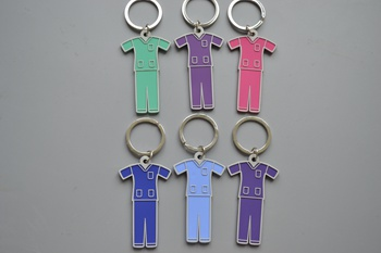 Scrub suit key chain P000439