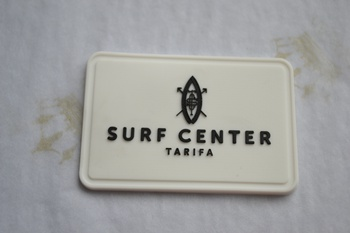 SURF PVC label P001633