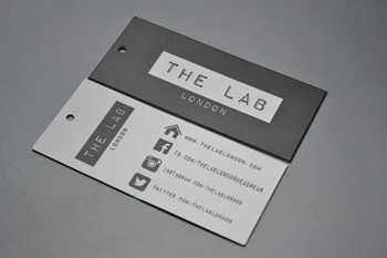 THE LAB hang tag P002185