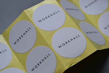 WORKHALL sticker P002307