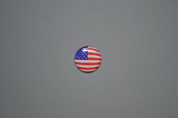 USA flag sticker P002354