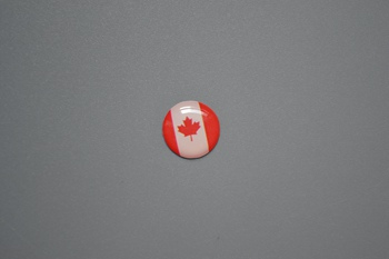 Canada flag sticker P002355