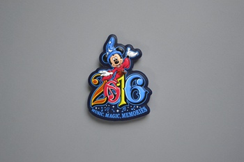 Mickey Mouse 3D silicon label P002380