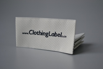 Woven label P002738
