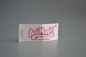 AniMagic printed label P003524