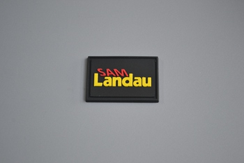 Landau PVC label P001691
