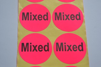 Mixed sticker P003595