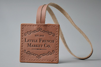 LITTLE FRENCH leather labels P002873