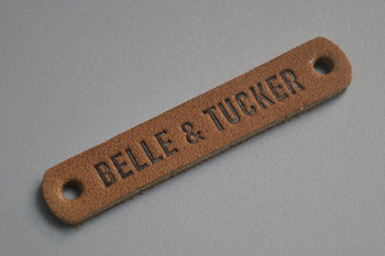 BELLE&TUCKER leather labels-P003128