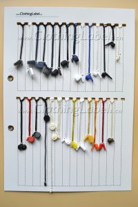 Hang-tag-string