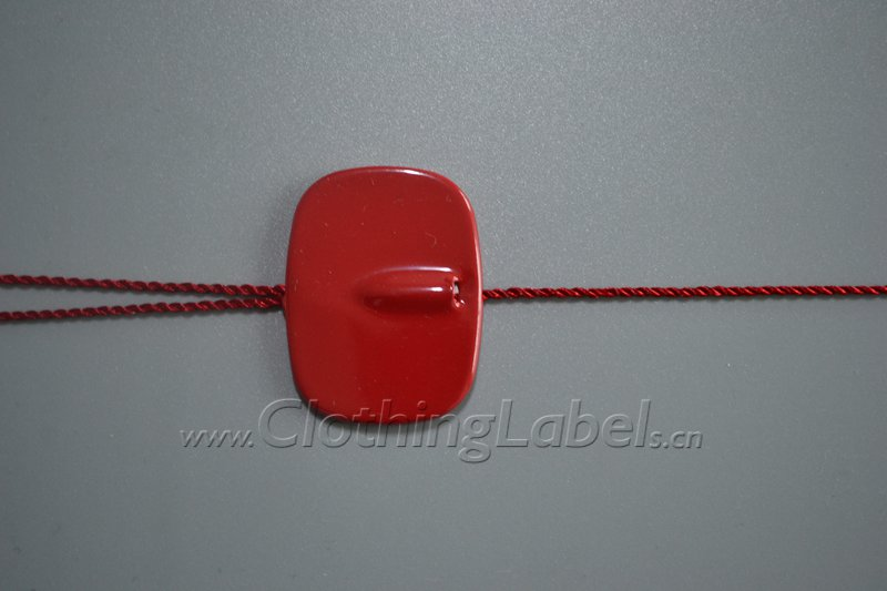 Rectangle hang tag string without logo p000968a