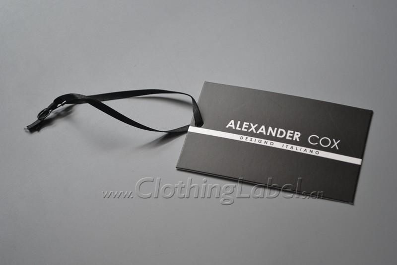 ALEXANDER COX hang tag P002140