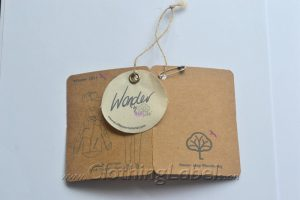 kraft paper tags with string