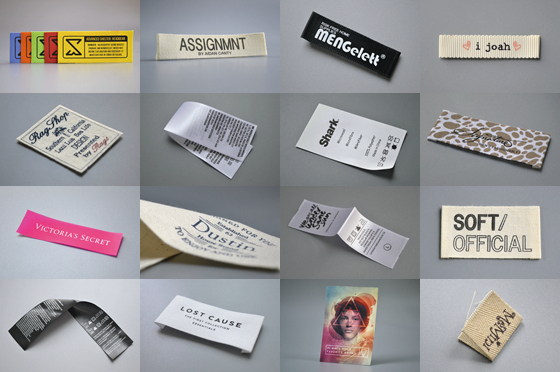 printed labels's photo gallery