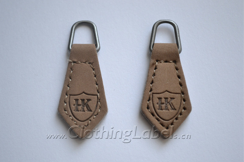 PU leather zipper puller