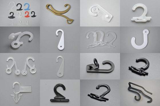 image of plastic hooks