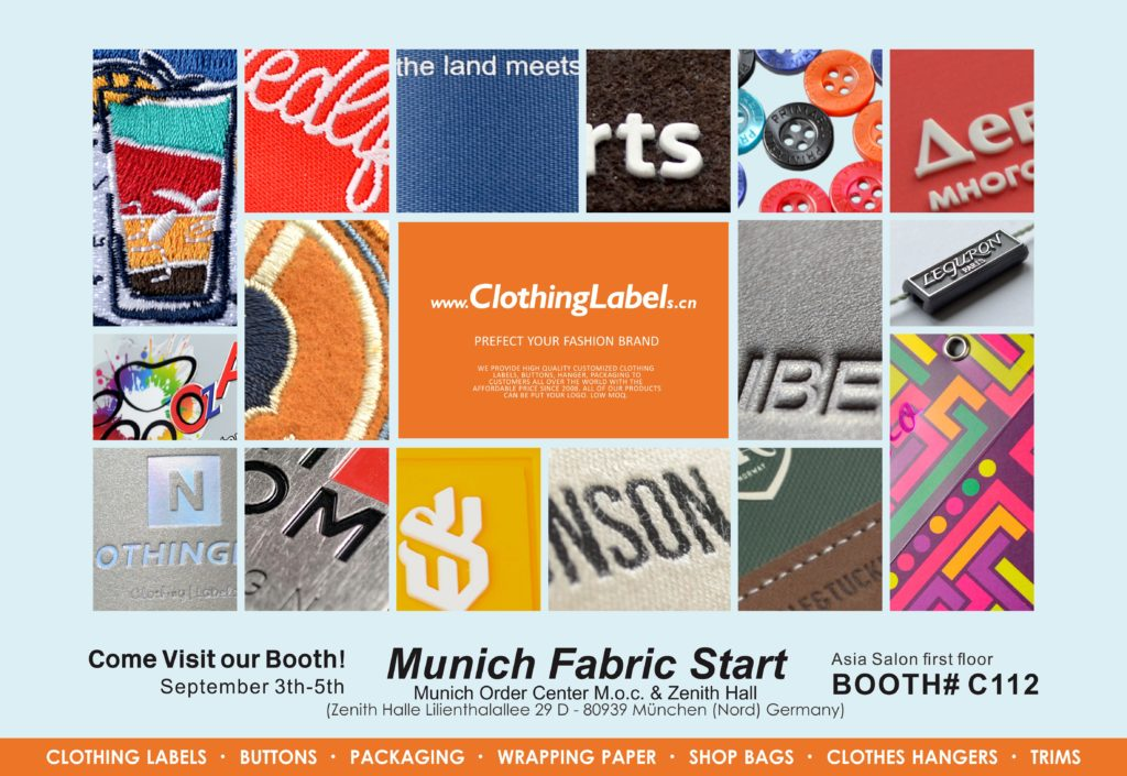 ClothingLabels.cn Munich Fabric Start 2019