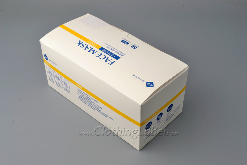 8 face mask box 8045