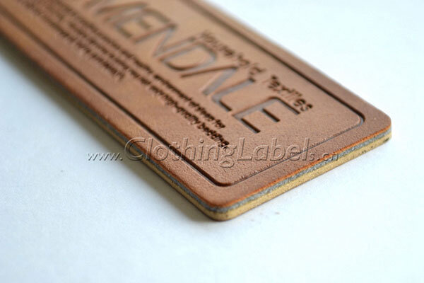 jeans leather labels 1