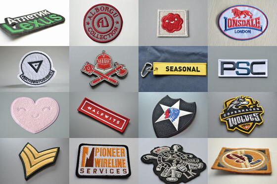 embroidered patches's photo gallery