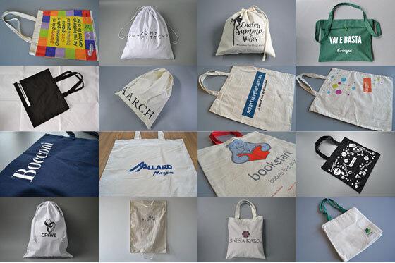 image of muslin bags