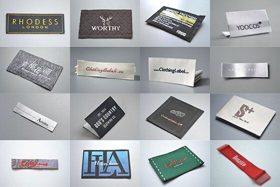 image of woven labels