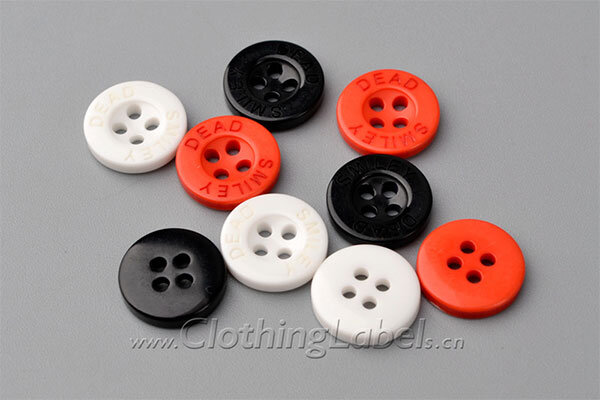 polyester buttons 1