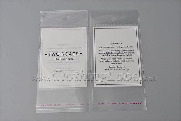 Transparent plastic packaging 1