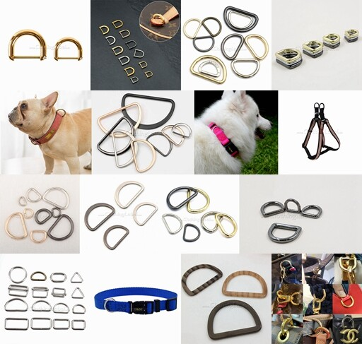 Photo gallery of D rings for dog collars