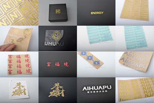 images of 3D metal sticker