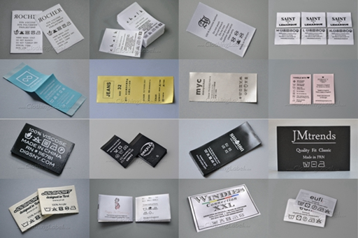 garment care labels' photo gallery
